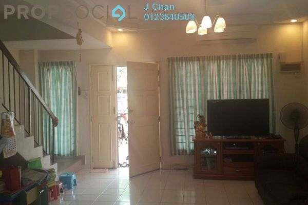 For Sale Terrace at Mahkota Walk, Bandar Mahkota Cheras Freehold Semi Furnished 4R/3B 580k