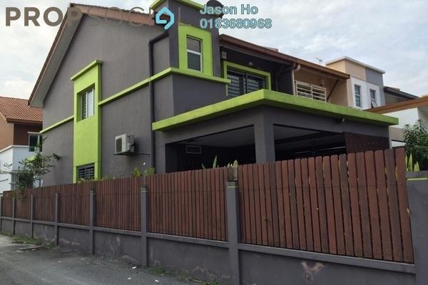 For Sale Terrace at Setia Indah, Setia Alam Freehold Semi Furnished 4R/3B 750k