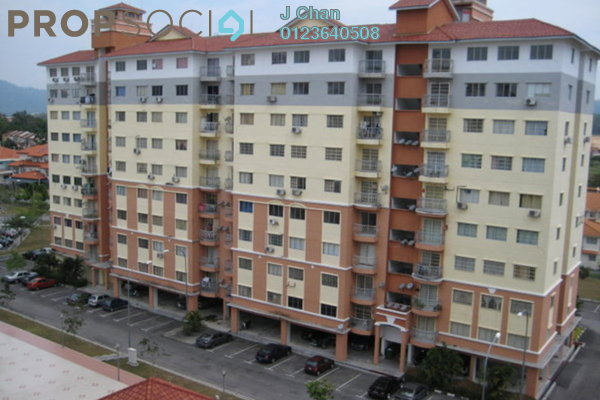 For Sale Condominium at Sri Hijau, Bandar Mahkota Cheras Freehold Semi Furnished 3R/2B 348k