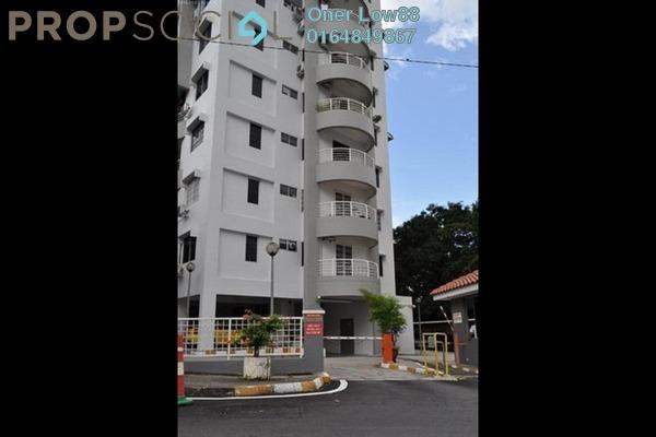 For Rent Condominium at Desa Bukit Jambul, Bukit Jambul Freehold Semi Furnished 3R/2B 1.55k