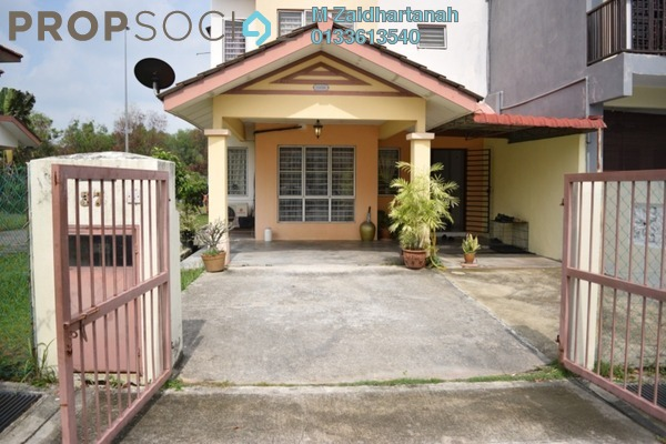 For Sale Terrace at Taman Amanputra, Puchong Leasehold Unfurnished 4R/4B 660k