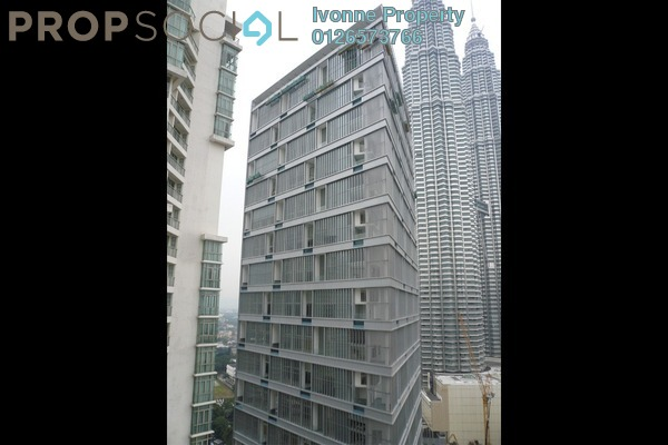 For Sale Condominium at One KL, KLCC Freehold Semi Furnished 3R/4B 4.87m