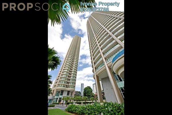 For Sale Condominium at The Oval, KLCC Freehold Semi Furnished 3R/3B 4.8百万