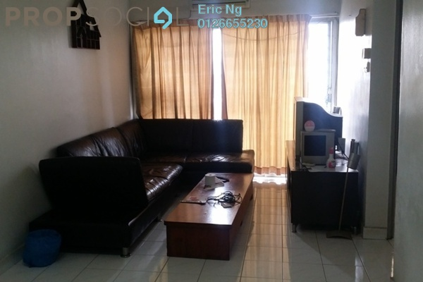 For Rent Apartment at Suria KiPark Damansara, Kepong Freehold Semi Furnished 3R/2B 1.2k