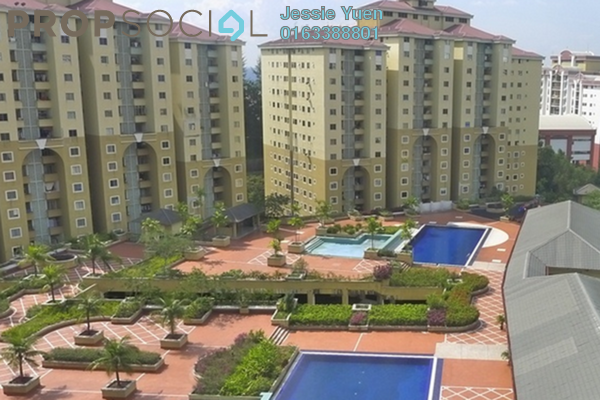 For Sale Condominium at Ketumbar Heights, Cheras Freehold Semi Furnished 0R/0B 380k