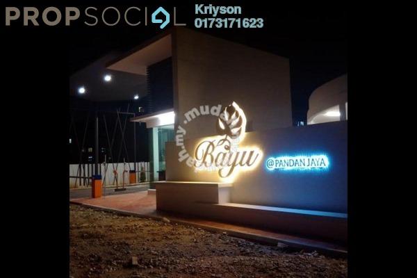 For Rent Condominium at Bayu @ Pandan Jaya, Pandan Indah Leasehold Semi Furnished 3R/2B 1.7k