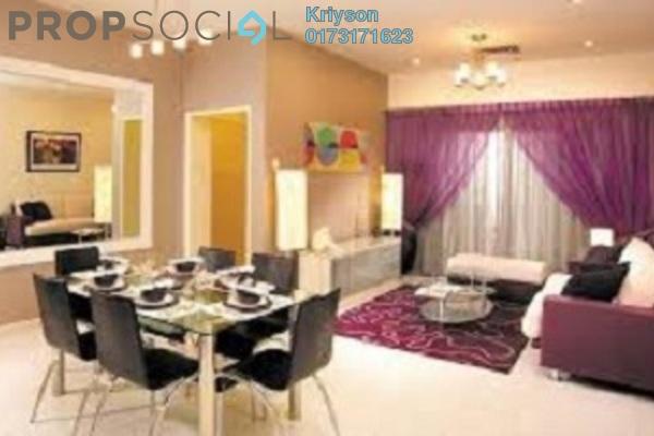 For Rent Apartment at Sri Ixora Apartment, Kajang Freehold Fully Furnished 3R/2B 1.4k