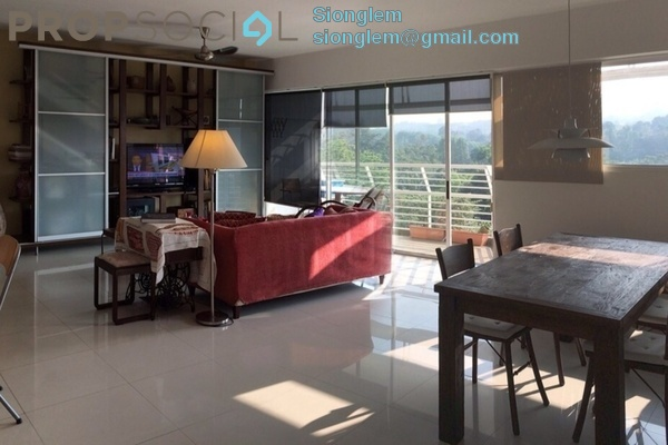 For Rent Condominium at The Plaza Condominium, TTDI Freehold Fully Furnished 3R/3B 4.5k