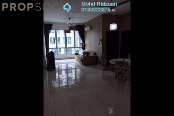 For Rent Serviced Residence at Casa Tiara, Subang Jaya Freehold Fully Furnished 3R/2B 2.2k