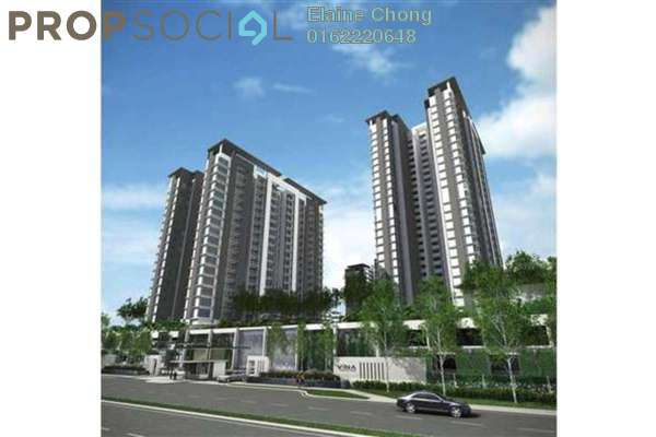 For Sale Condominium at Vina Versatile Homes, Cheras South Freehold Semi Furnished 3R/2B 570k