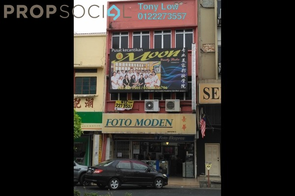 For Rent Office at Jalan Tuanku Munawir, Seremban Freehold Semi Furnished 3R/2B 1.5k