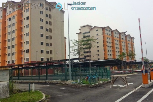 For Sale Apartment at Melor Apartment, Kajang Freehold Semi Furnished 3R/2B 100k