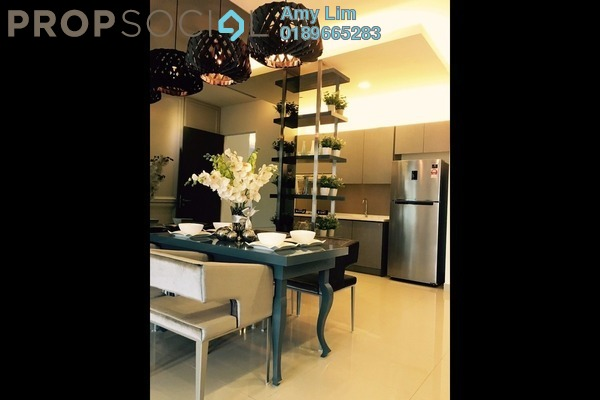 For Sale Condominium at Mutiara Ville, Cyberjaya Freehold Semi Furnished 3R/2B 487k