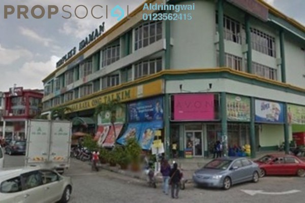 For Sale Shop at Medan Idaman Business Centre, Setapak Freehold Semi Furnished 0R/0B 2.8m