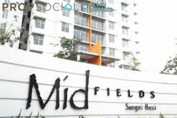 For Rent Condominium at Midfields, Sungai Besi Leasehold Semi Furnished 3R/2B 1.55k