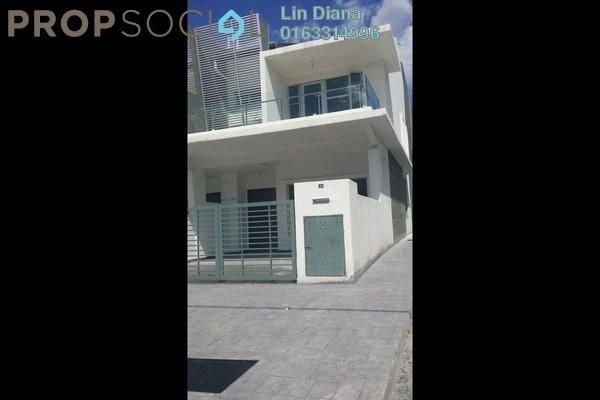 For Sale Terrace at Taman Rakan, Bandar Sungai Long Freehold Semi Furnished 4R/3B 800k