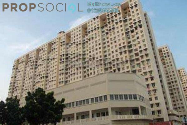For Sale Apartment at Sri Saujana Apartment, Georgetown Leasehold Semi Furnished 3R/2B 160k