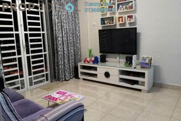 For Sale Apartment at Idaman Lavender, Sungai Ara Freehold Semi Furnished 3R/2B 338k