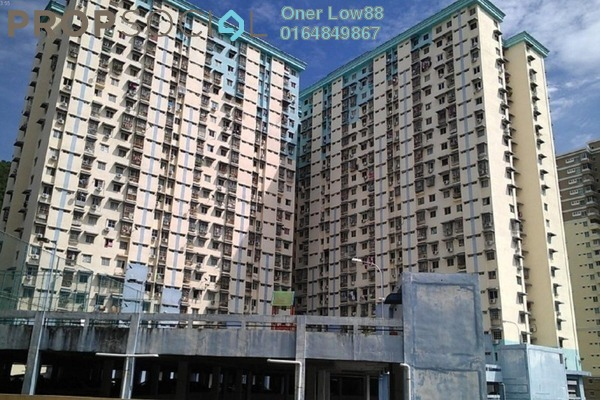 For Sale Apartment at Sri Ivory Apartment, Farlim Leasehold Semi Furnished 2R/2B 265k