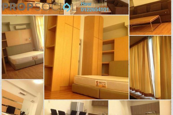 For Sale SoHo/Studio at Park View, KLCC Freehold Fully Furnished 0R/1B 720k