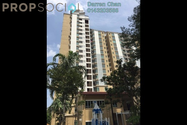 For Rent Condominium at Villa Park, Seri Kembangan Freehold Semi Furnished 4R/2B 1.6k