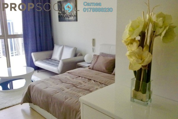 For Rent Condominium at Marc Service Residence, KLCC Freehold Fully Furnished 0R/1B 3k