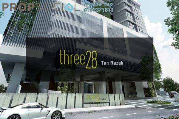 For Sale Condominium at Three28 Tun Razak, KLCC Freehold Semi Furnished 2R/2B 1.2m