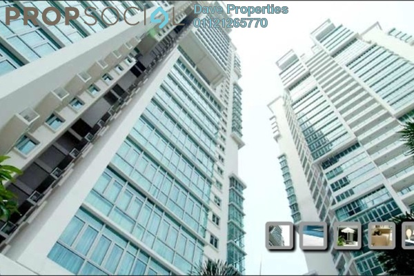 For Rent Condominium at Marc Service Residence, KLCC Freehold Semi Furnished 3R/3B 7k