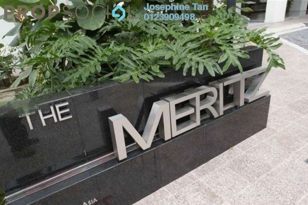 For Sale Condominium at The Meritz, KLCC Freehold Fully Furnished 2R/0B 1.7百万