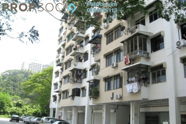 For Sale Apartment at Taman Bukit Jambul, Bukit Jambul Freehold Semi Furnished 3R/2B 248k