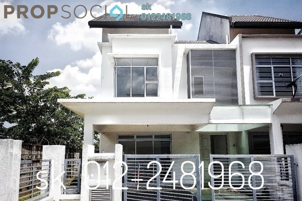 For Sale Terrace at Damai Residences, Kota Kemuning Freehold Unfurnished 4R/4B 960k