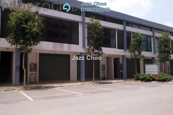 For Rent Shop at Ken Rimba, Shah Alam Freehold Unfurnished 0R/1B 3k