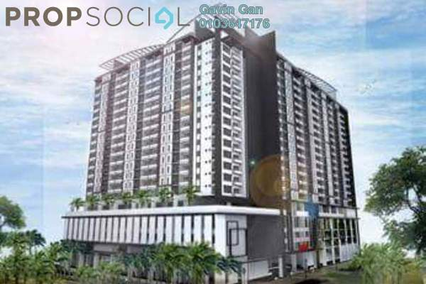For Sale Serviced Residence at D'Aman Residences, Puchong Leasehold Semi Furnished 3R/2B 440k