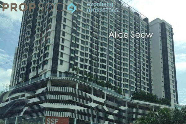 For Sale Condominium at Pearl Suria, Old Klang Road Leasehold Semi Furnished 2R/2B 630k