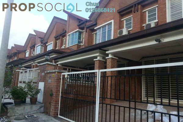For Rent Terrace at Palm Walk, Bandar Sungai Long Freehold Semi Furnished 4R/3B 1.6k