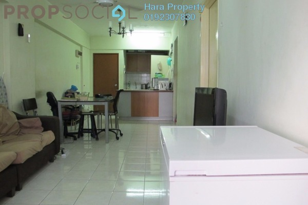 For Sale Apartment at Pelangi Damansara, Bandar Utama Leasehold Semi Furnished 3R/2B 350k