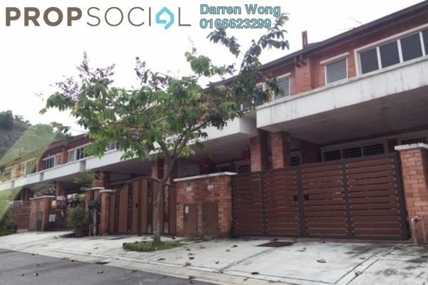 For Rent Terrace at Palm Walk, Bandar Sungai Long Freehold Semi Furnished 4R/3B 1.1k