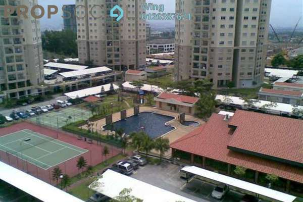 For Rent Apartment at Menara Menjalara, Bandar Menjalara Freehold Semi Furnished 3R/2B 1.2k