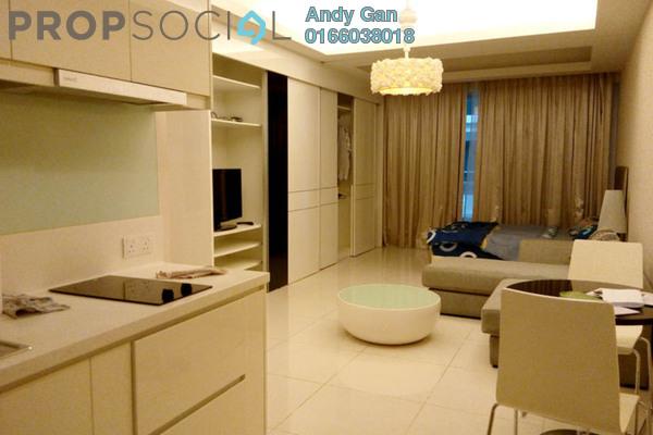 For Rent Condominium at Plaza Damas 3, Sri Hartamas Freehold Fully Furnished 0R/1B 1.6k