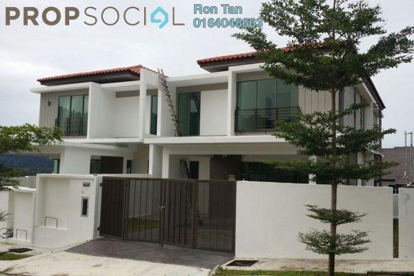 For Sale Semi-Detached at Taman Titi Heights, Balik Pulau Freehold Unfurnished 5R/5B 1.23m