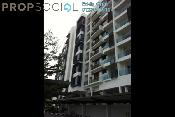 For Sale Condominium at Gardenview Residence, Cyberjaya Freehold Semi Furnished 3R/2B 538k