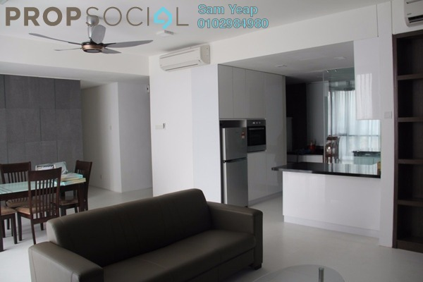 For Rent Condominium at The Capers, Sentul Freehold Fully Furnished 4R/4B 3.9k
