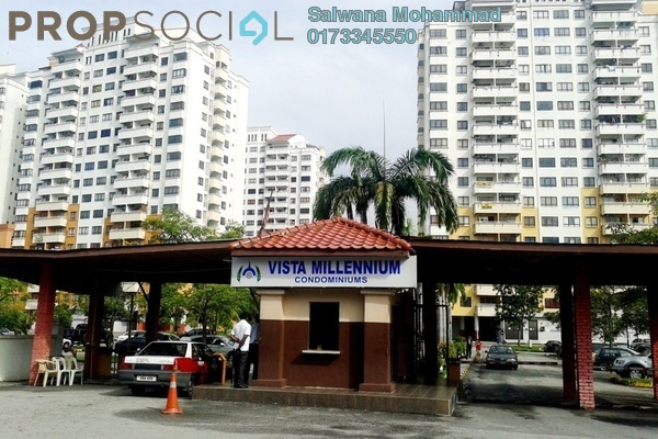 For Sale Condominium at Vista Millennium, Puchong Leasehold Unfurnished 3R/2B 265k
