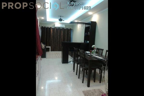 For Sale Condominium at Mahsuri Apartment, Setiawangsa Freehold Fully Furnished 3R/2B 390k