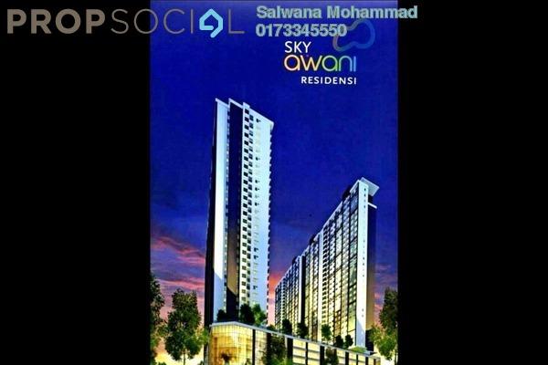 For Sale Condominium at SkyAwani, Sentul Leasehold Unfurnished 3R/2B 300k