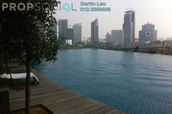 For Sale Condominium at Panorama, KLCC Freehold Semi Furnished 3R/4B 2.6m