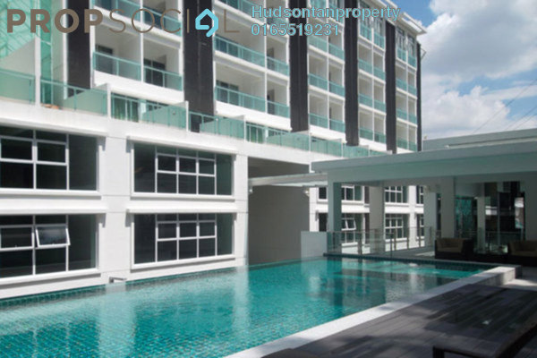 For Rent Condominium at Plaza Damas 3, Sri Hartamas Freehold Fully Furnished 0R/1B 1.55k