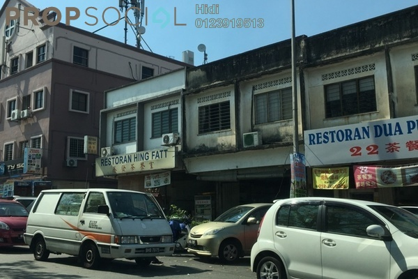 For Sale Shop at Taman Tan Yew Lai, Old Klang Road Freehold Unfurnished 0R/2B 700k