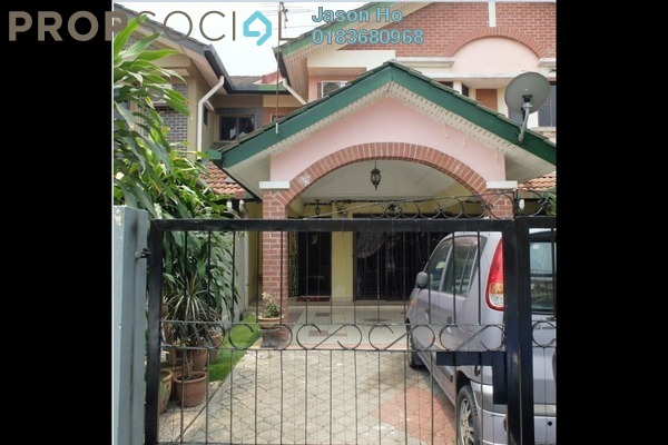 For Sale Terrace at Section 7, Shah Alam Leasehold Semi Furnished 4R/3B 750k