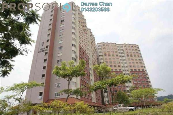 For Rent Apartment at Desaminium Flora, Bandar Putra Permai Leasehold Semi Furnished 3R/2B 1k